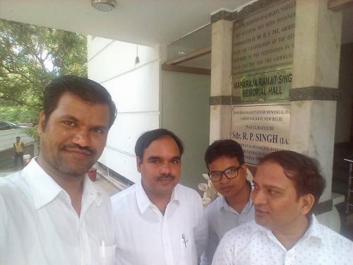 JNV Shine President with JNV Doctors